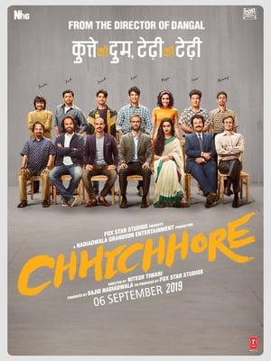 Chhichhore (2019) Hindi 720p HDrip  x265  HEVC  Ac3  2 0 {Team Shadow Exclusive}