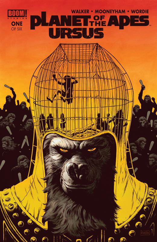 Planet Of The Apes - Ursus #1-6 (2018) Complete