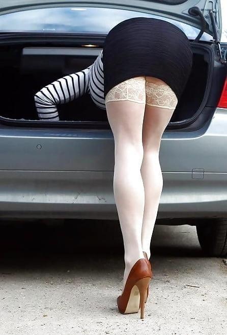Mature stocking foto-1620