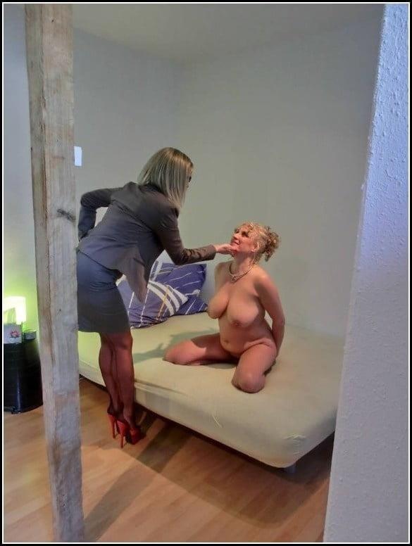 Foot slave lesbian-9185