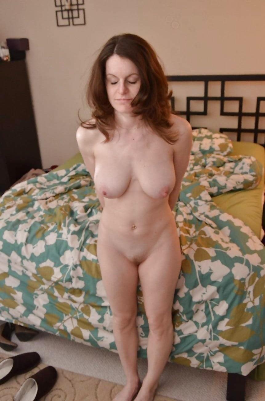 My nude hairy wife-3949