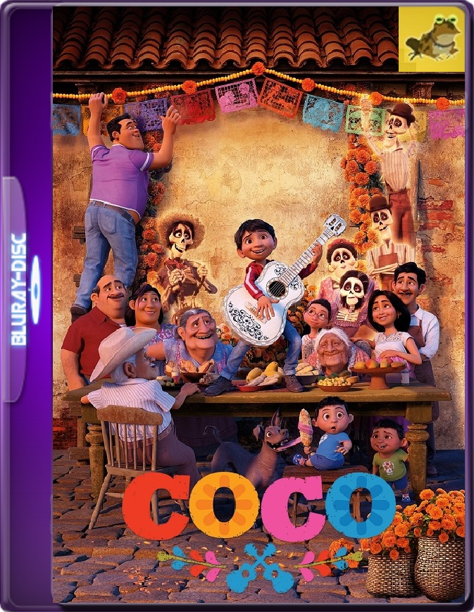 Coco (2017) Brrip 1080p (60 FPS) Latino