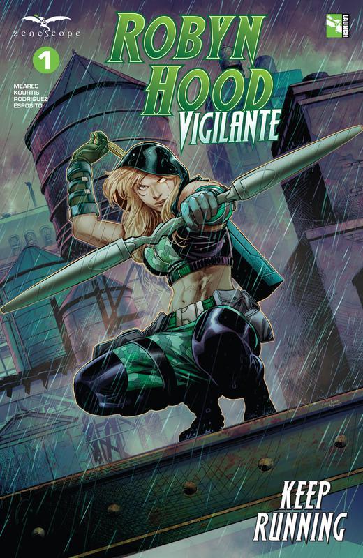 Robyn Hood - Vigilante #1-6 (2019-2020) Complete