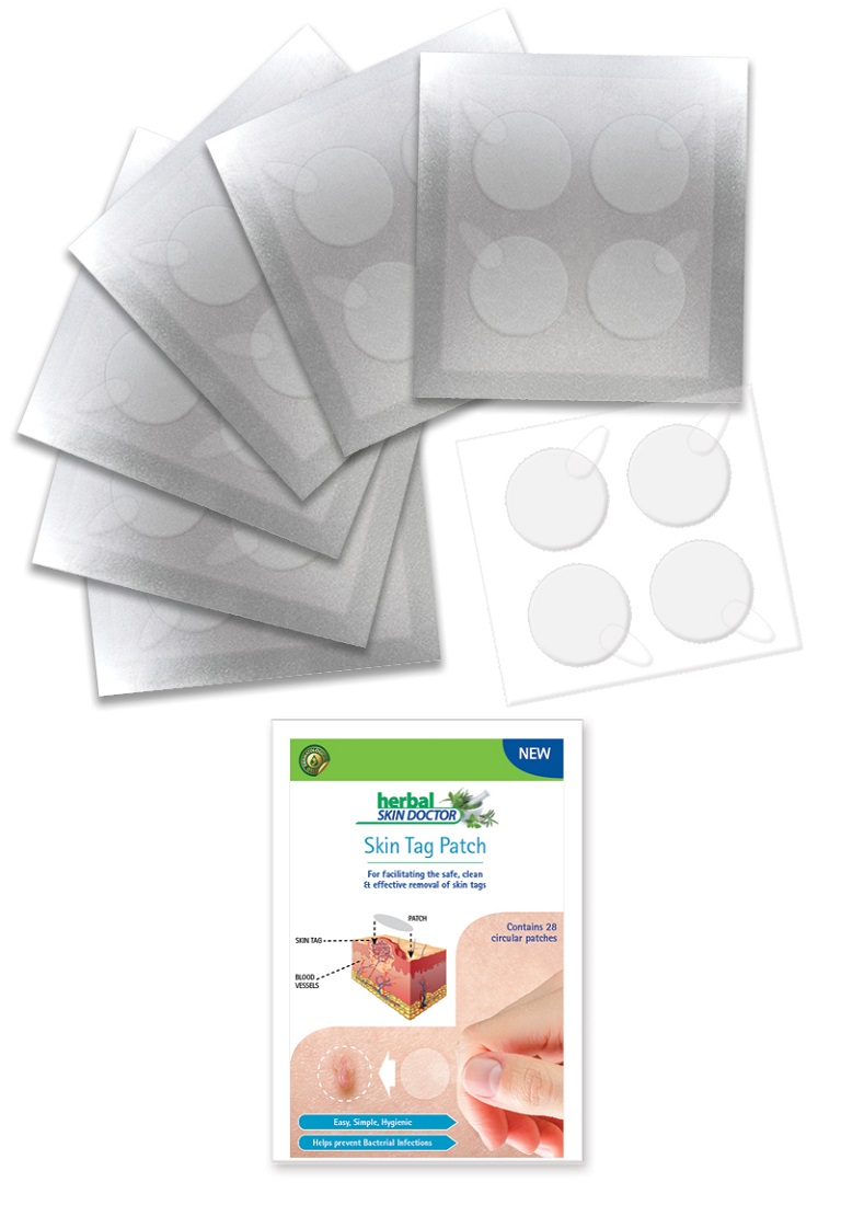 Skin Tag Removal Patch Herbal Skin Doctor 28pieces Ebay