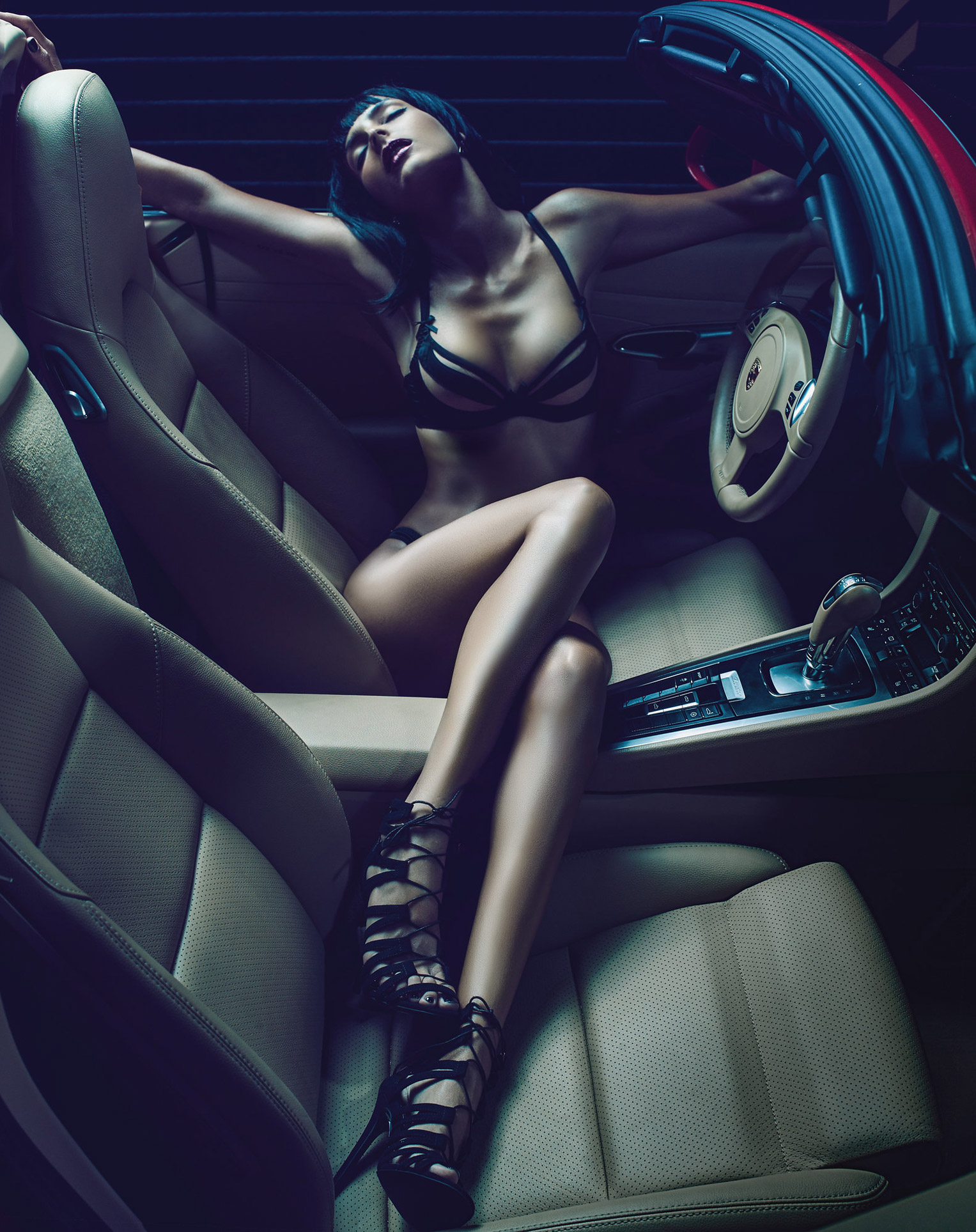 Caterina Norbis by Travis Teate / Porsche and Girls