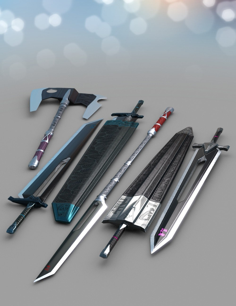 Anime Weapons