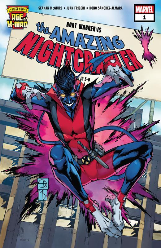 Age of X-Man - The Amazing Nightcrawler #1-5 (2019)