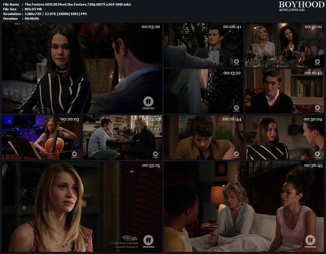 The Fosters S05 E20