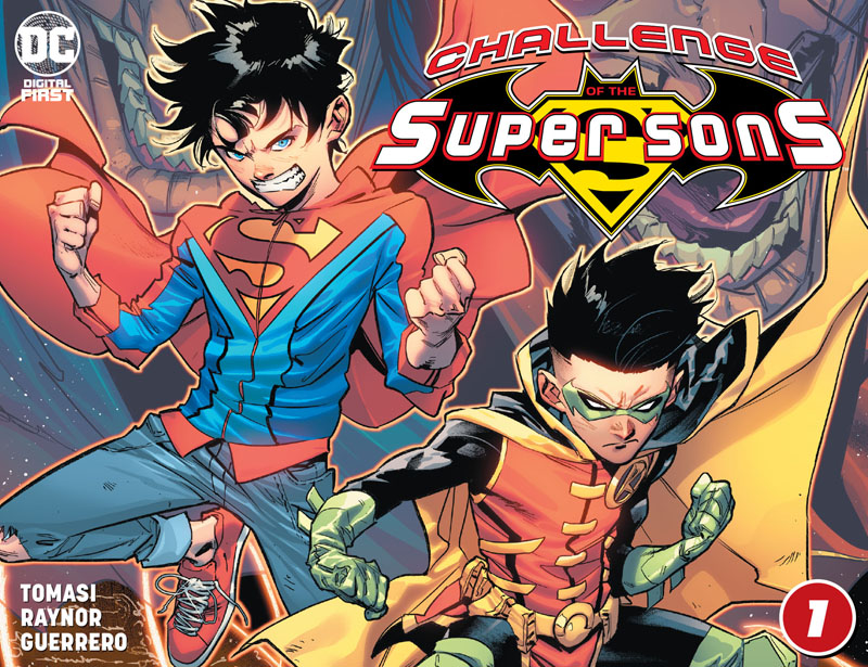 Challenge of the Super Sons #1-6 (2020-2021)