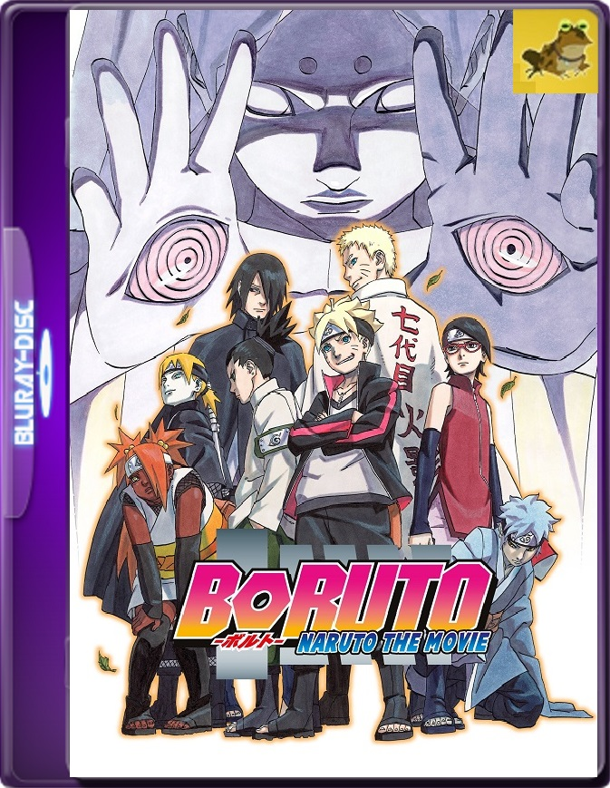 Boruto: Naruto The Movie (2015) Brrip 1080p (60 FPS) Japonés Subtitulado