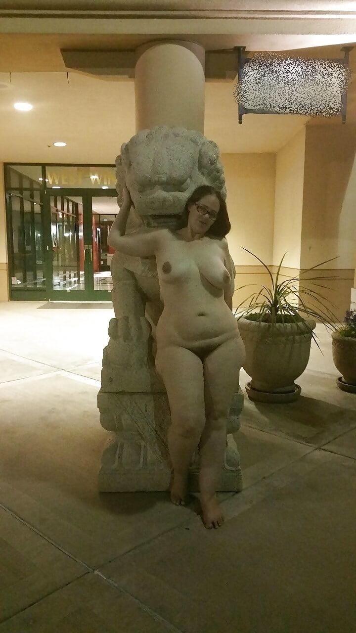 Bbw public nudity-8228