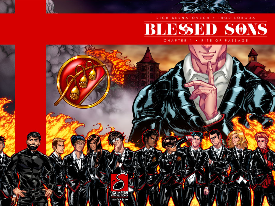 Blessed Sons 001 (2017)