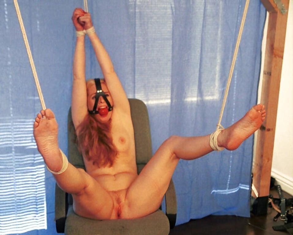 Bondage and gagged girl-5816