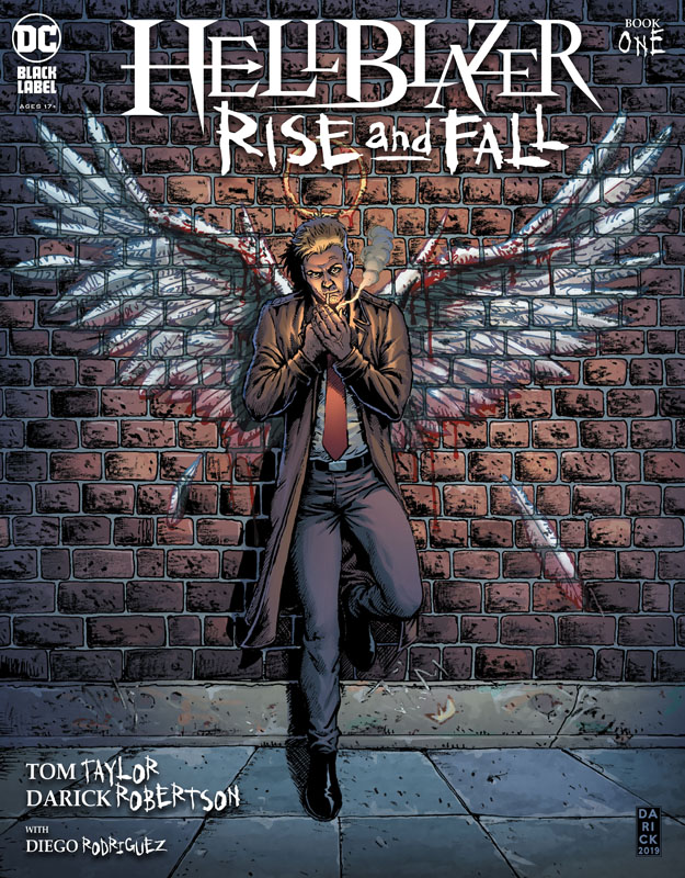 Hellblazer - Rise and Fall #1-3 (2020-2021)
