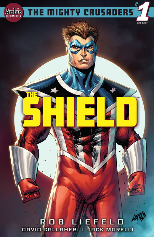 The Mighty Crusaders - The Shield 001 (2021)