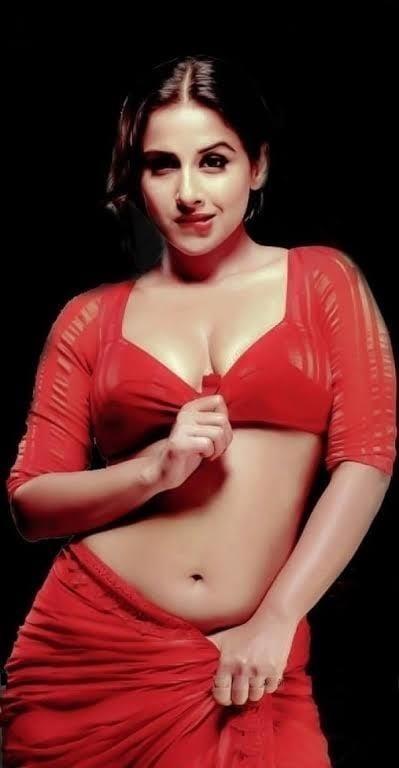 Vidya balan big boobs images-7056