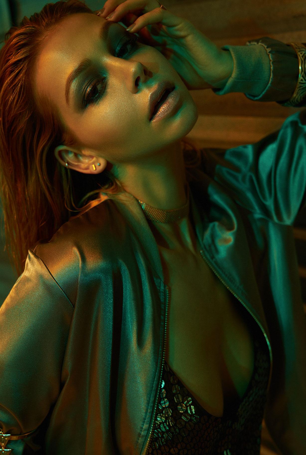 Anika Menningen from Cocaine Models by Alexei Bazdarev