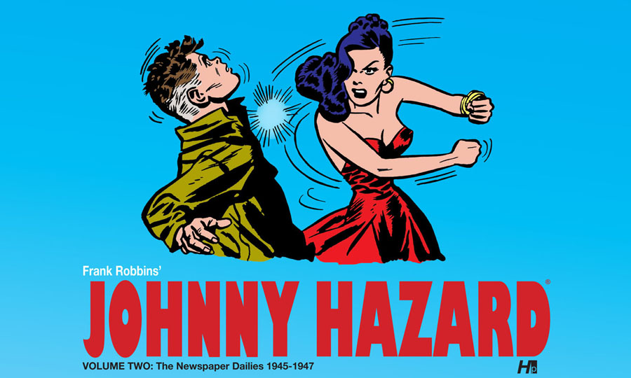 Johnny Hazard v01 - The Newspaper Dailies 1944-1946 (2011)