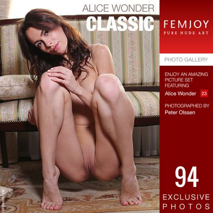 [Femjoy.com] 2021.05.07 Alice Wonder - Classic [Glamour] [5000x3334, 94 photos]