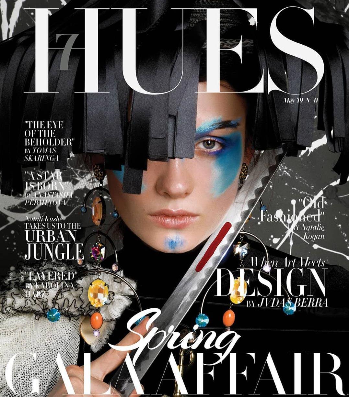 Anna Bertulitte by Jvdas Berra / 7Hues Magazine may 2019