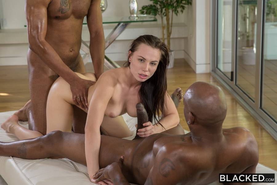 Aidra Fox, Flash Brown, Jovan Jordan – Beautiful Student Takes Two BBCs – Blacked
