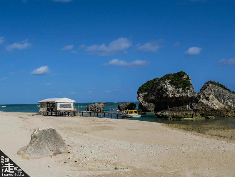 新原海灘 沖繩 不自駕