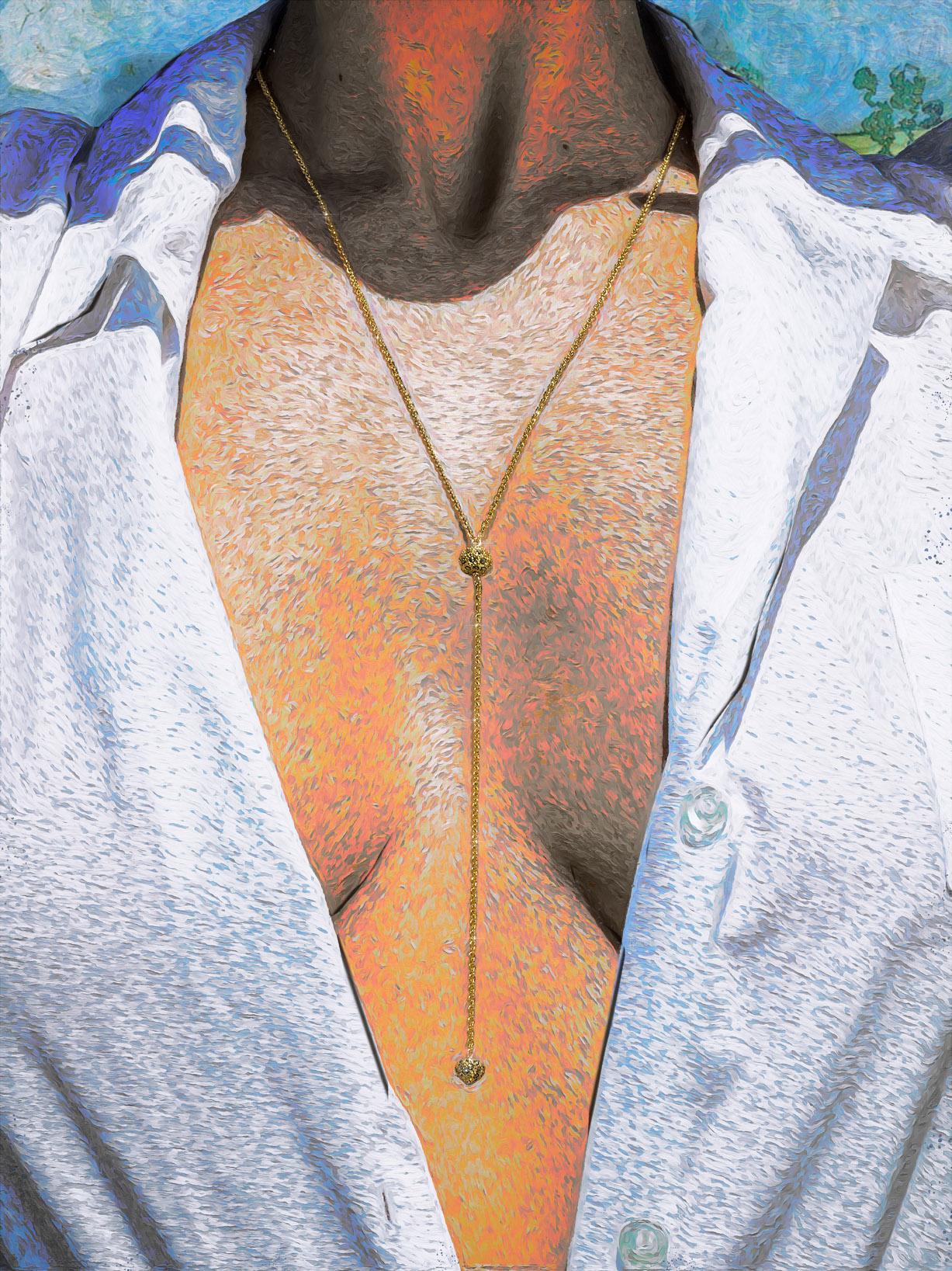 Реклама ювелирных изделий в стиле Ван Гога / фото 16