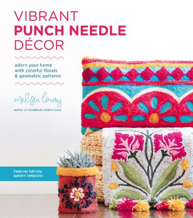 Vibrant Punch Needle Decor - Adorn Your Home with Colorful F