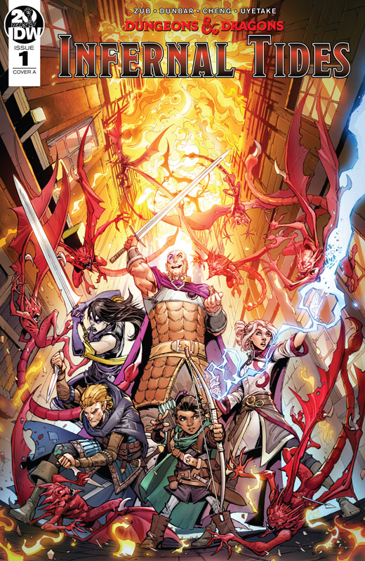 Dungeons & Dragons - Infernal Tides #1-5 (2019-2020) Complete