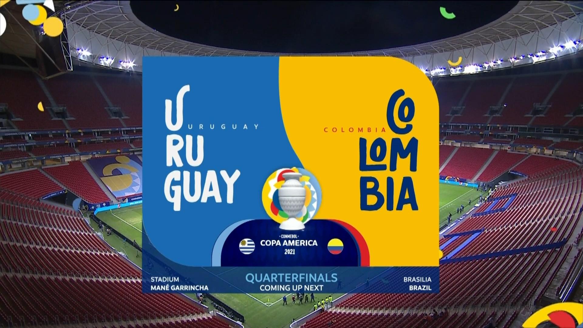 Full match: Uruguay vs Colombia