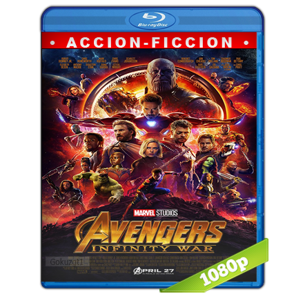 Avengers Infinity War 1080p Lat-Cast-Ing 5.1 (2018)