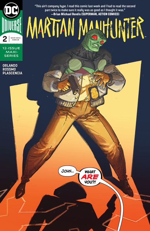 Martian Manhunter #1-3 (2019)
