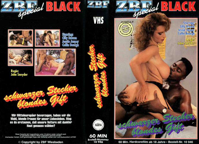 Blacks And Blondes: Schwarze Stecher Blondes Gift (Western Visuals) [1986 г., Classic, Compilation, Interracial, VHSRip] (Shanna McCullough, Taija Rae, Leslie Winston, F.M. Bradley, Ray Victory, Robbie Dee)