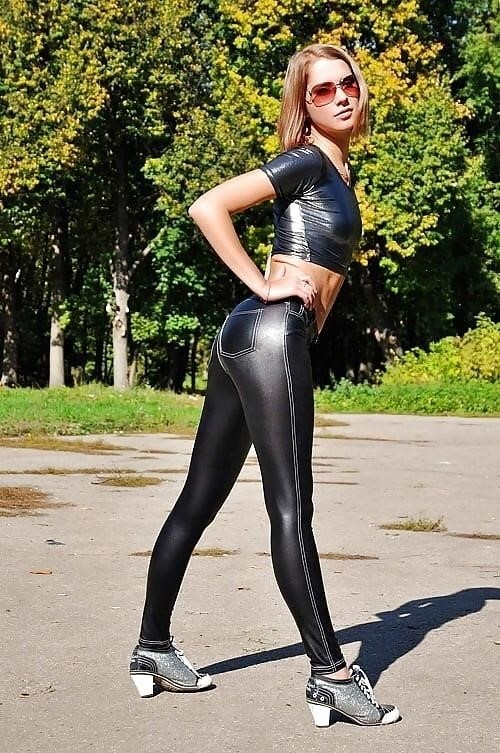 Sexy asian latex-4101