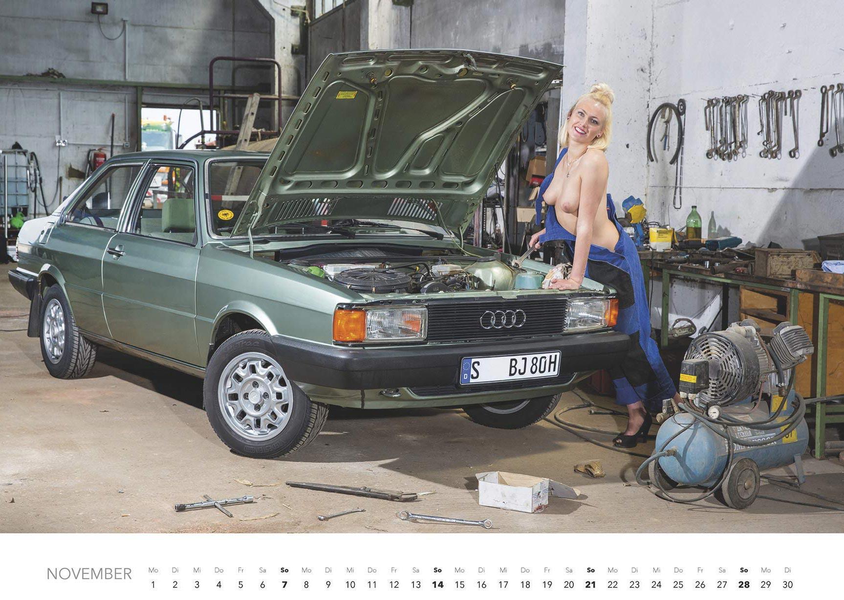 Эротический авто-календарь -Отвертка мечты 2021- / ноябрь