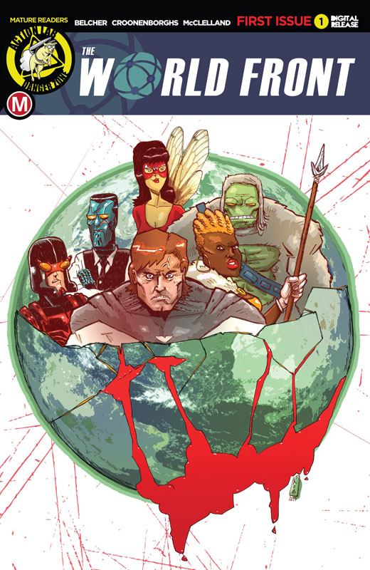 The World Front #1-3 (2019)