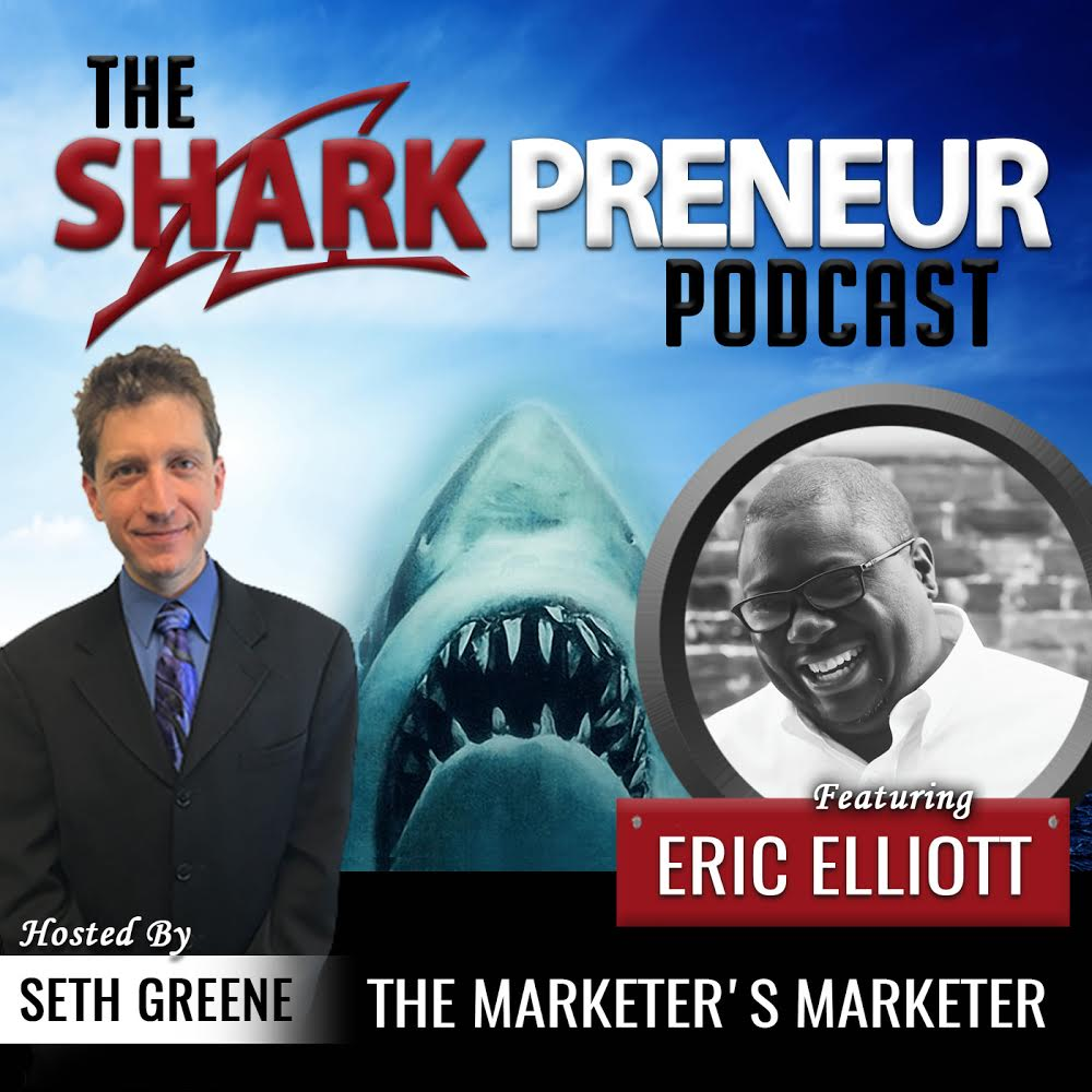 Eric Elliott, CEO Founder of VIP Marketing and Craft Creative to be Featured on the SharkPreneur Podcast