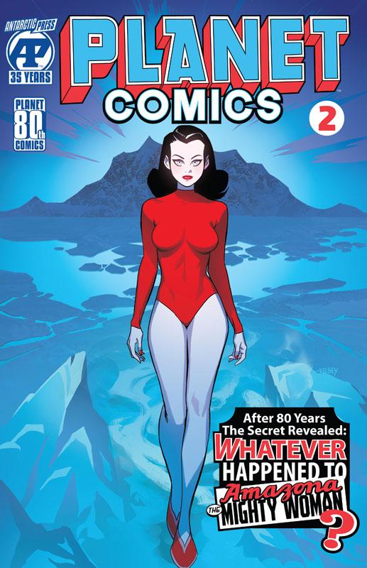 Planet Comics #1-2 (2020)