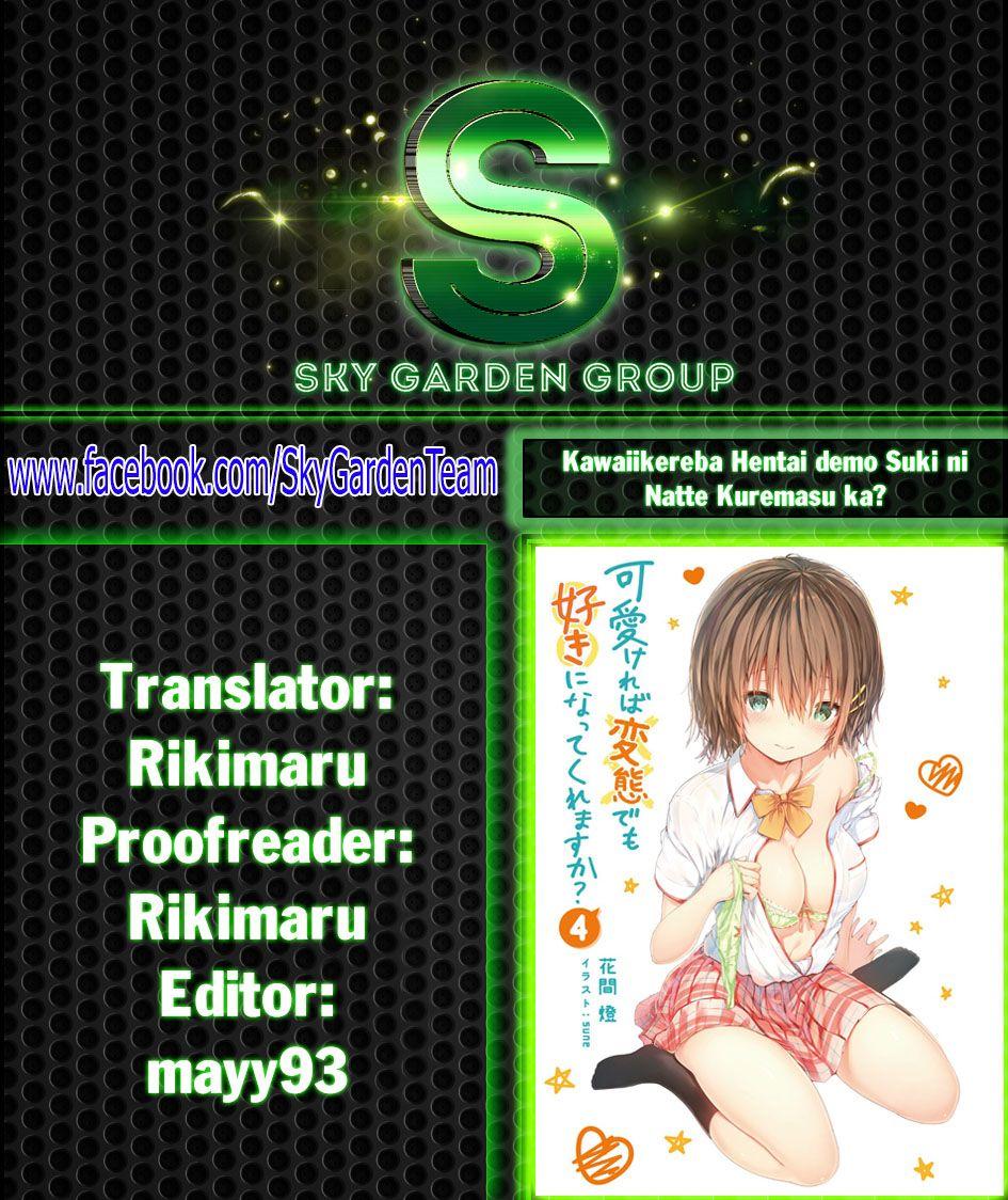 Kawaiikereba Hentai demo Suki ni Natte Kuremasu ka? Chap 24 . Next Chap Chap 25