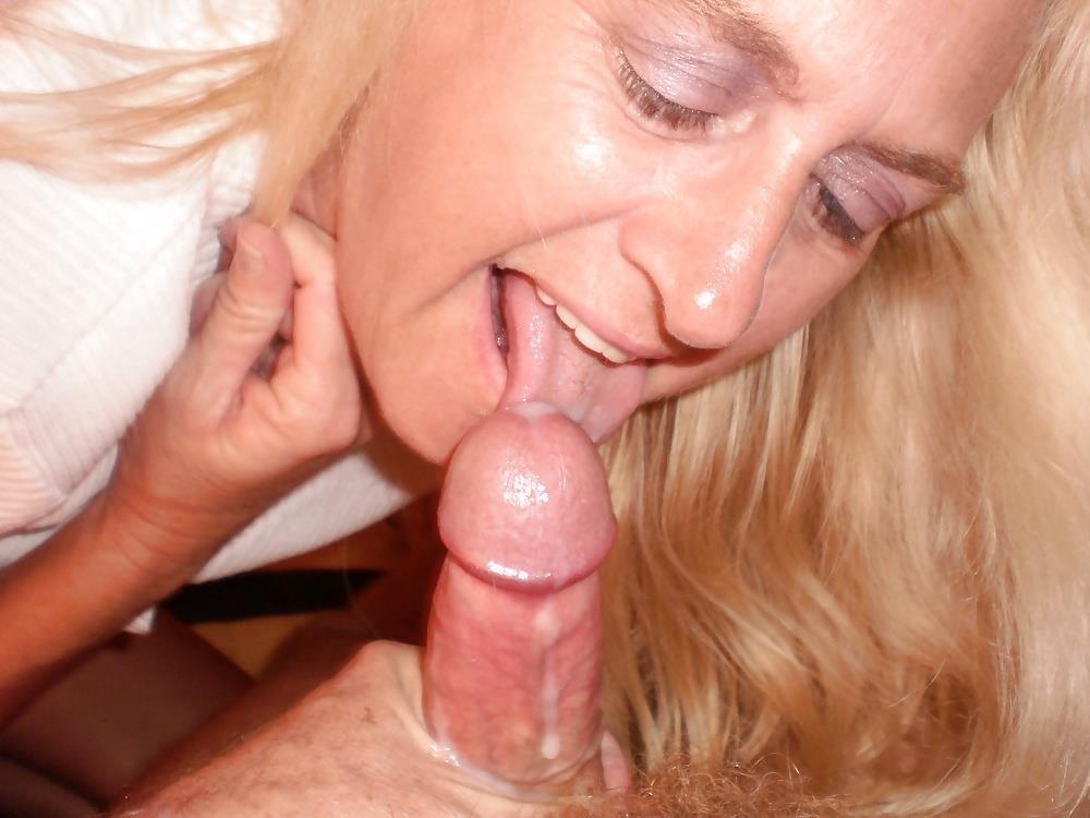 Amateur mature milf blowjob-2718
