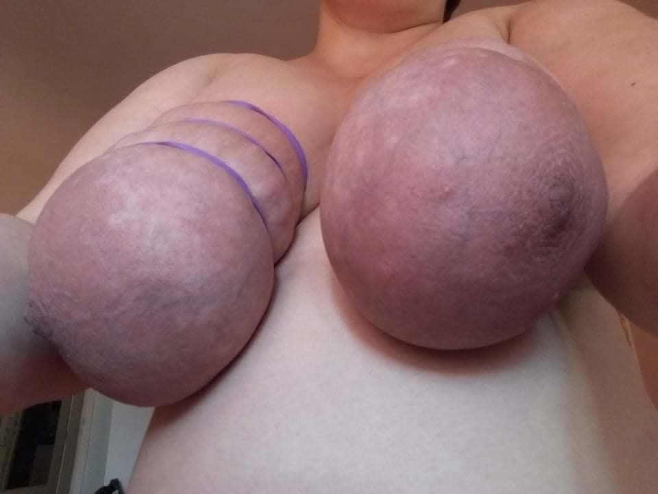 Self breast bondage-7466