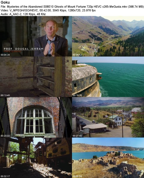 Mysteries of the Abandoned S08E10 Ghosts of Mount Fortune 720p HEVC x265-MeGusta