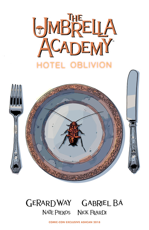 The Umbrella Academy - Hotel Oblivion #0-6 (2018-2019)