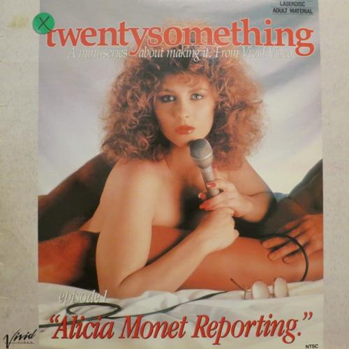 Twenty Something 1: Alicia Monet Reporting / Двадцать с небольшим 1: Репортаж Алисии Моне (Paul Thomas, Vivid) [1988 г., Classic, Feature, Facial, LDRip] (Alicia Monet, Siobhan Hunter, Ona Z, Ron Jeremy, Jerry Butler, Randy Paul)