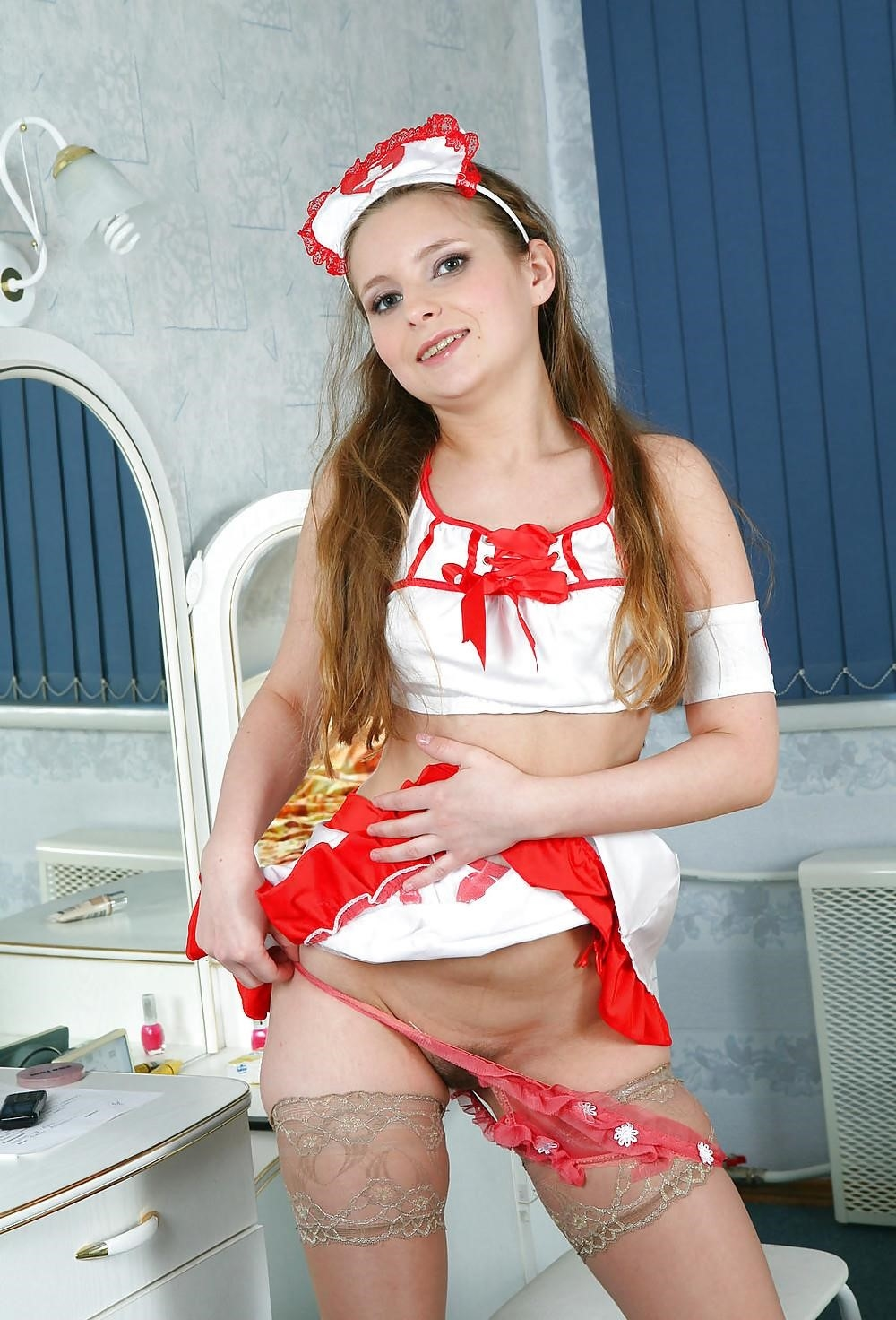 Anal teen nurse-3993