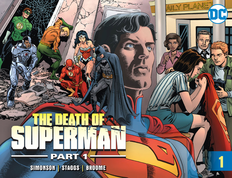 The Death of Superman - Part 01 - #1-12 (2018)