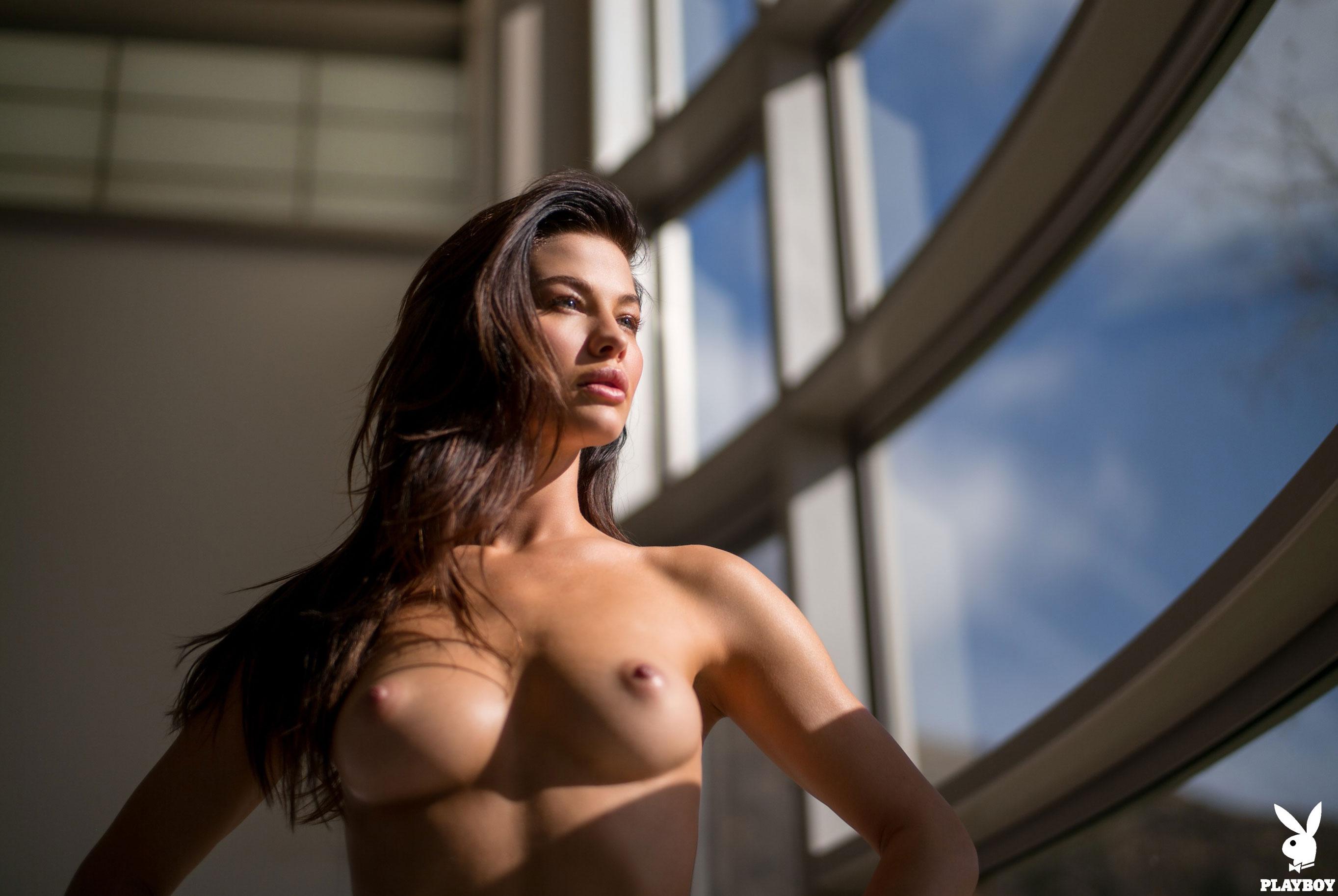 Девушка месяца Jenny Watwood / Playboy США, март 2018 / фото 16