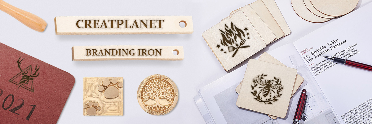 Creatplanet Unveils Custom Branding Iron Used To Make Good Marking Solutions And Lasting Trademark On Various Materials