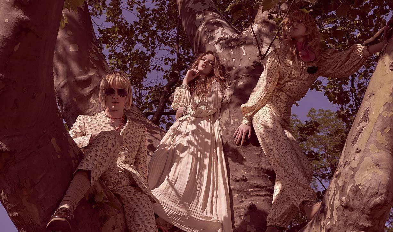 Leontyna Sirinova, Aneta Mestanova, Alica Niedelska by Andreas Ortner / Gucci Special for Elle Czech july 2018
