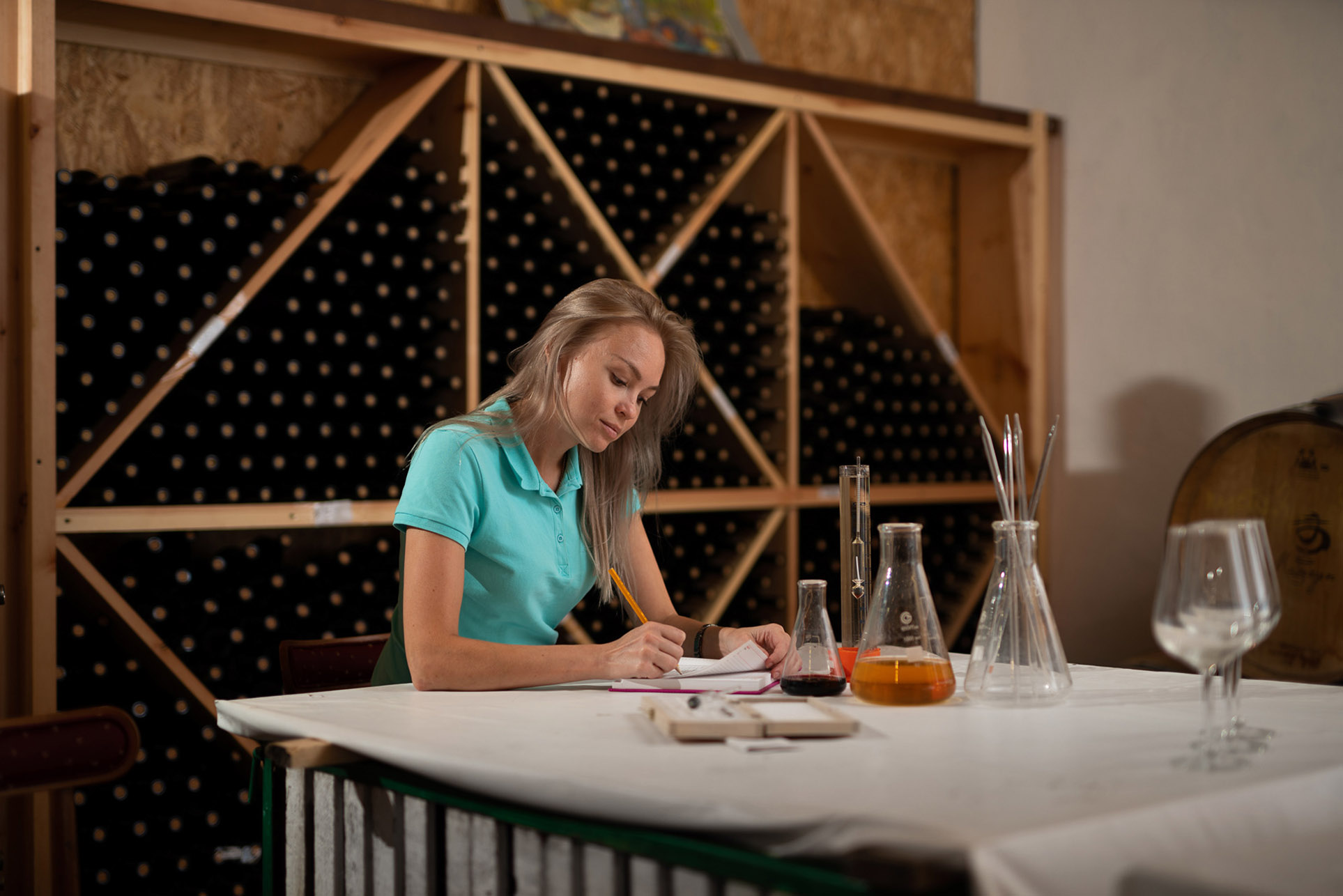 виноделы - сбор урожая и изготовление вина / фото 20